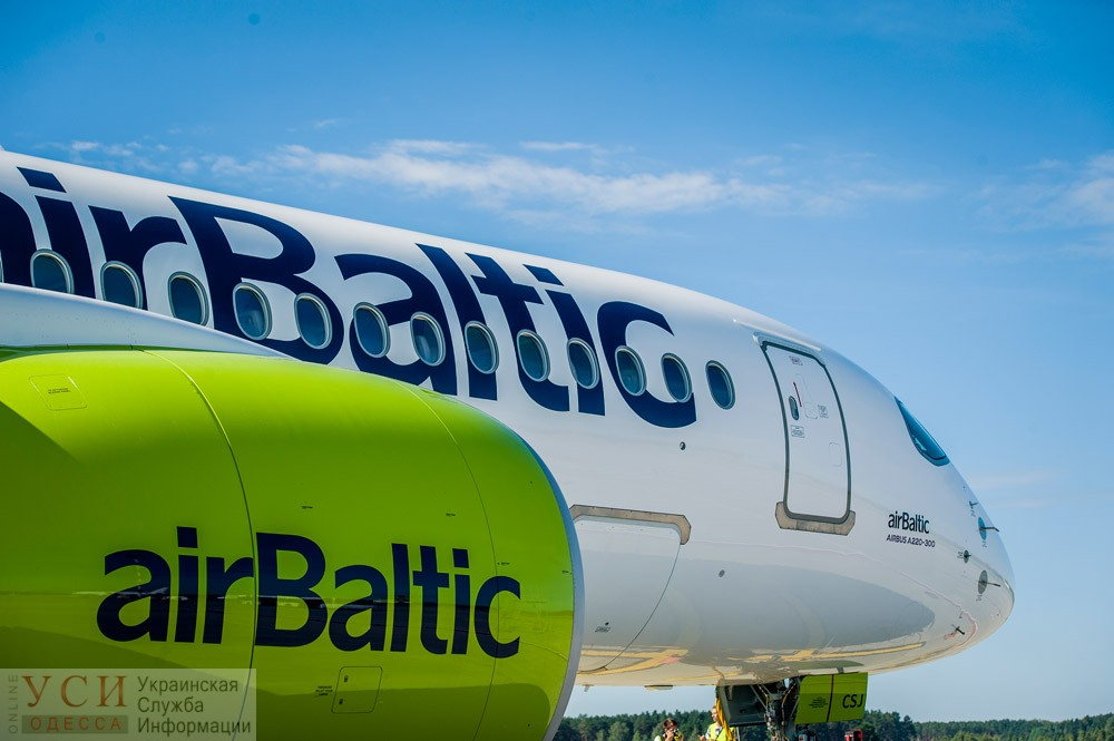 Из Одессы в Ригу будет летать самый экологичный самолет в мире «фото»