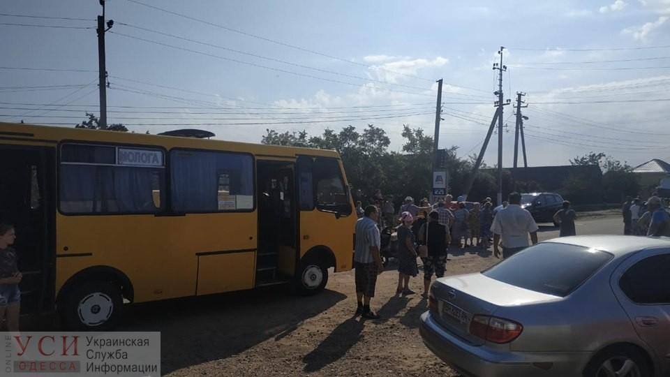 Жители затопленной Мологи перекрывали дорогу на Аккерман в борьбе против подорожания проезда на автобусе (фото) ОБНОВЛЕНО «фото»