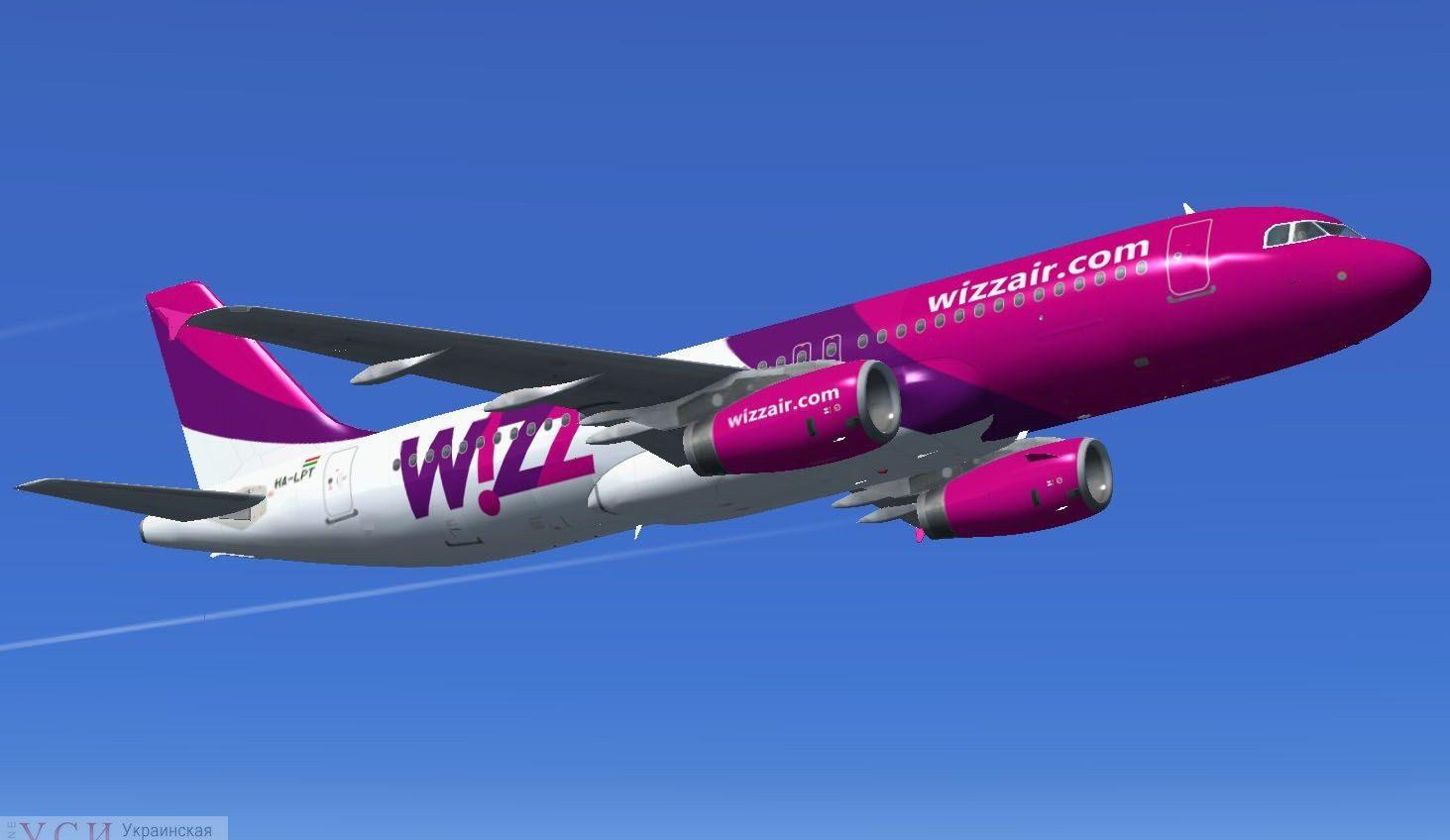 Wizz Air вернется в Одессу и запустит 6 новых направлений «фото»