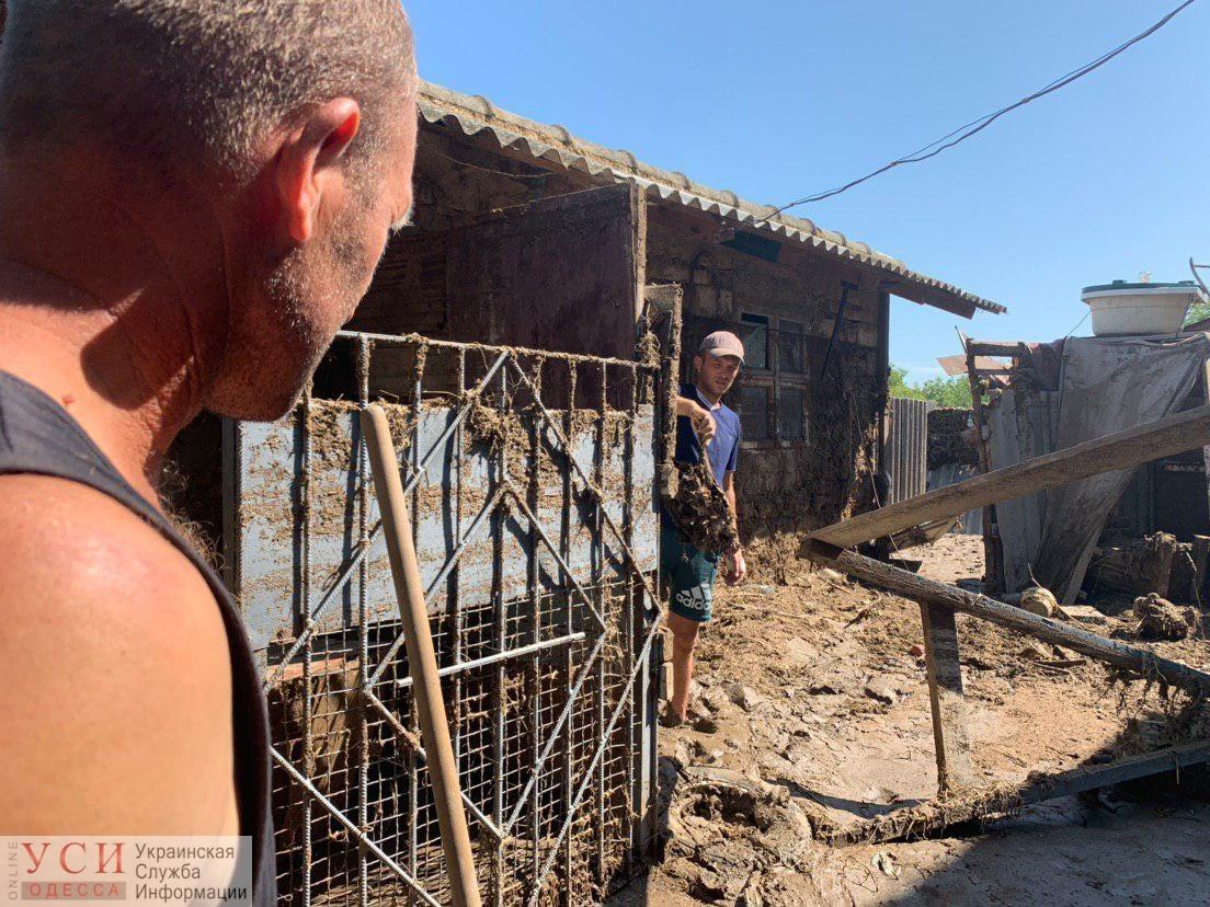 В Одесской области до сих пор «расхлебывают» последствия непогоды «фото»
