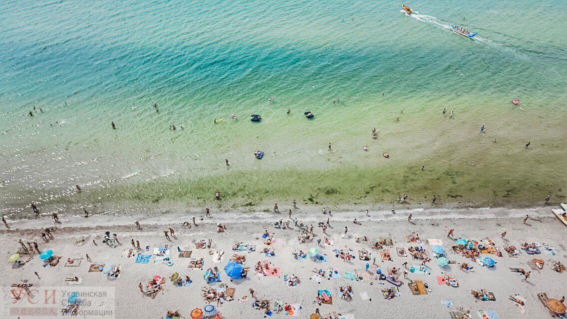 На пяти пляжах Одессы купаться не рекомендуется: вода не соответствует нормам «фото»