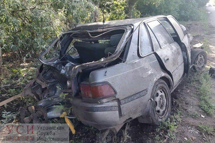 Ямы стали причиной серьезного ДТП под Одессой (фото) «фото»