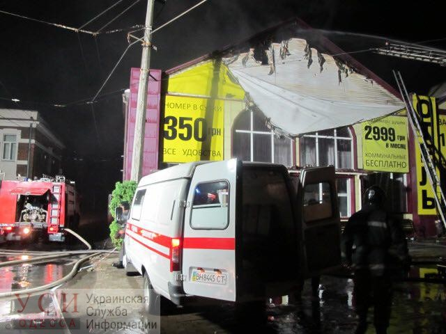 В Одессе горел отель: 8 человек погибли (фото, видео) «фото»