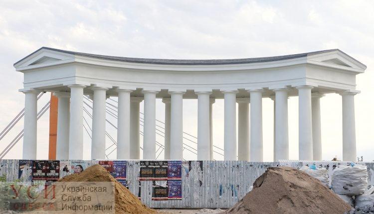 Воронцовскую колоннаду откроют ко Дню города: музыканты выступят в аутентичной оркестровой яме (фото) «фото»