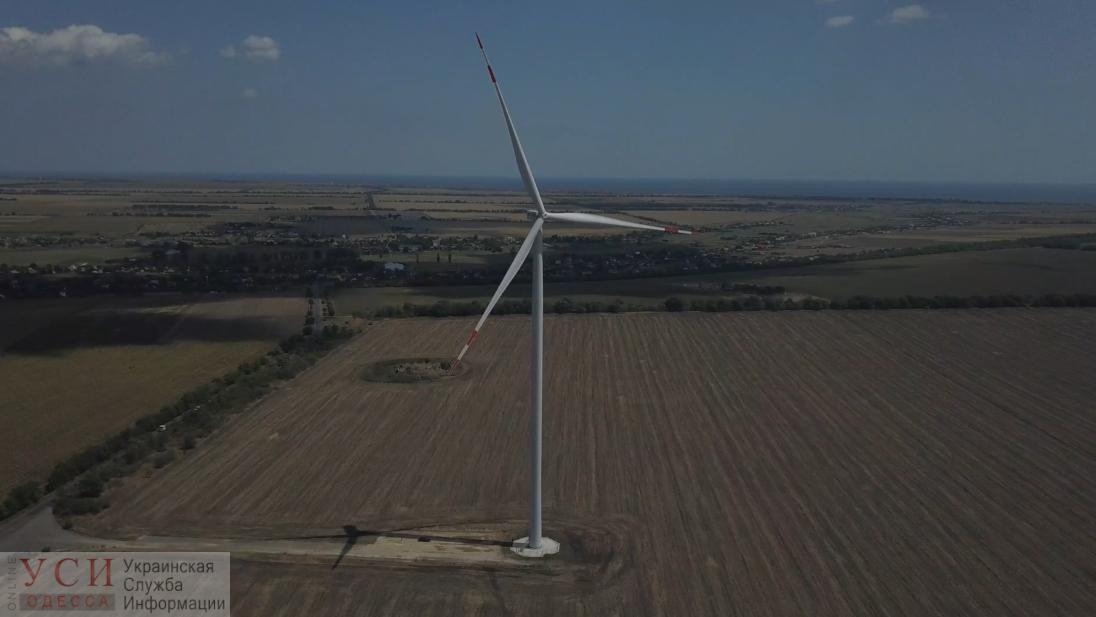Завораживающая красота гигантских ветряков в Одесской области (видео) «фото»