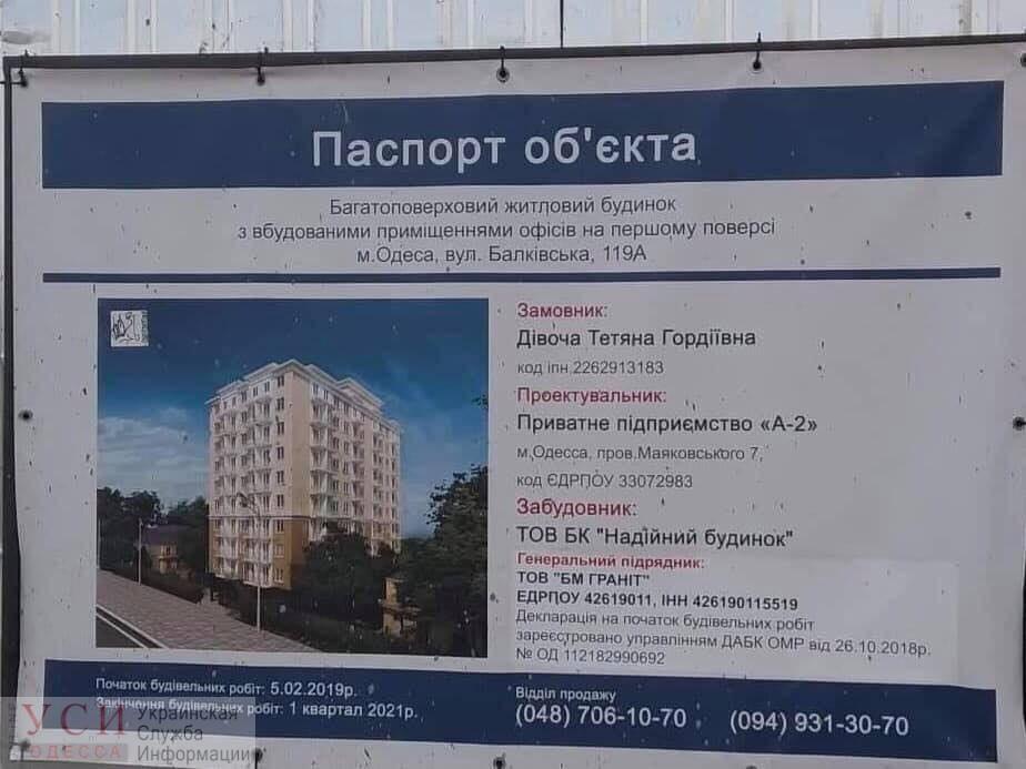 Стройка жилого комплекса на Балковской ведется с грубыми нарушениями (документ) «фото»