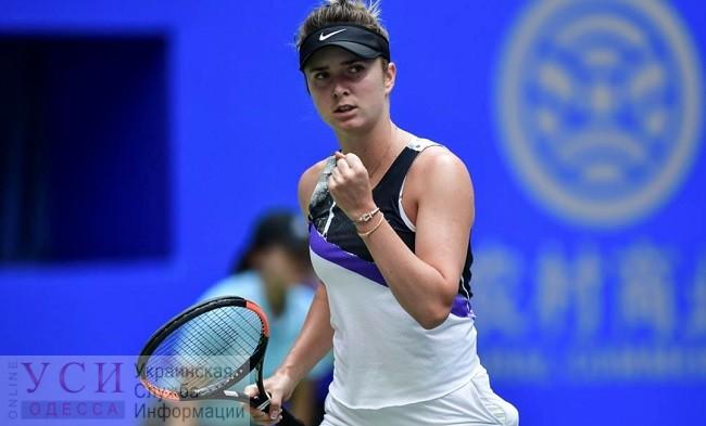 Одесская теннисистка Свитолина победила в Китае на Wuhan Open «фото»