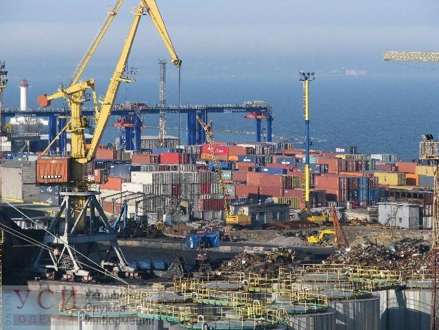 Стивидоры: после визита президента в Одесский порт лучше не стало «фото»