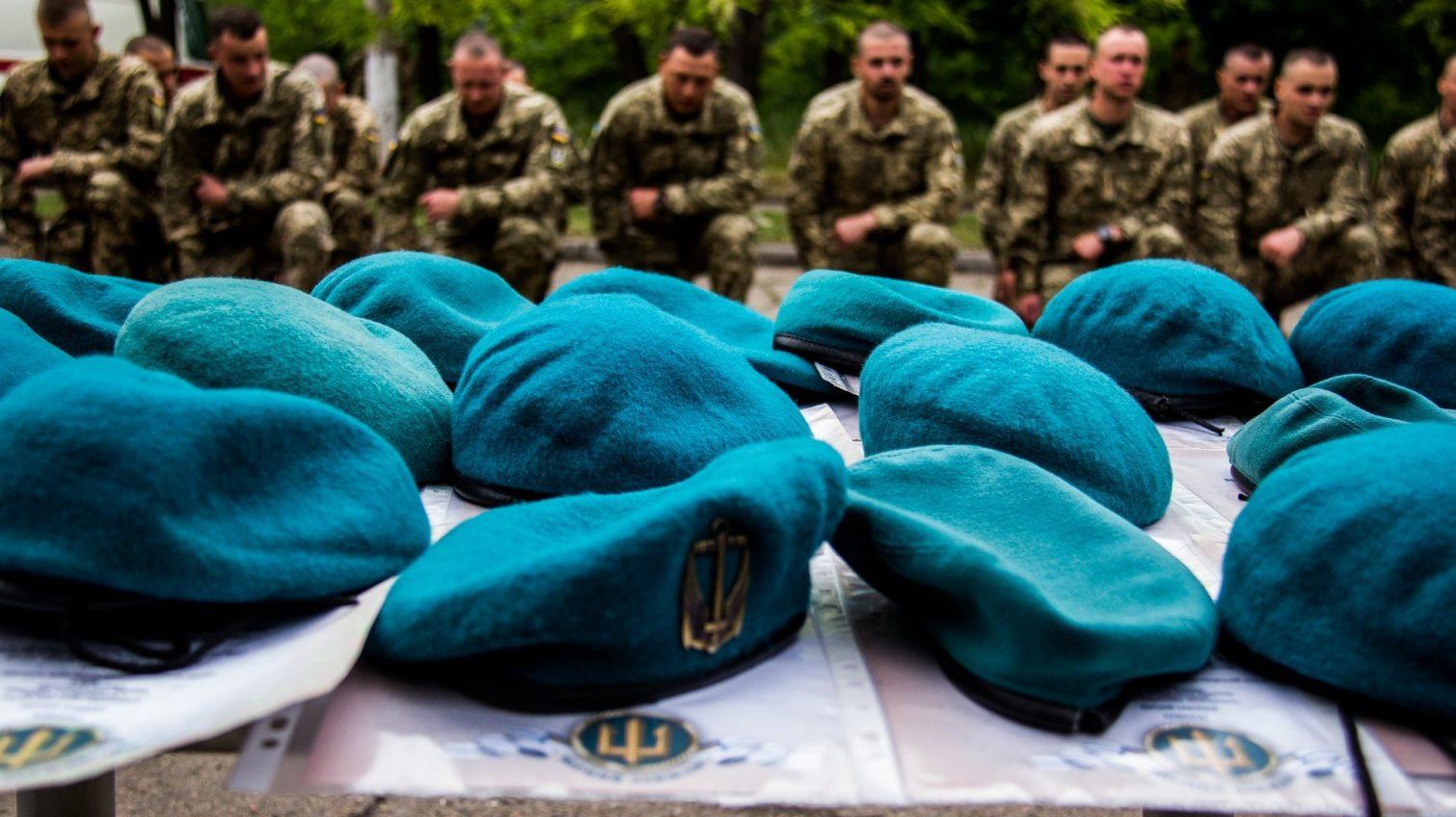 «Быть верным всегда»: одесская бригада морпехов отметила годовщину на фронте (фото) «фото»