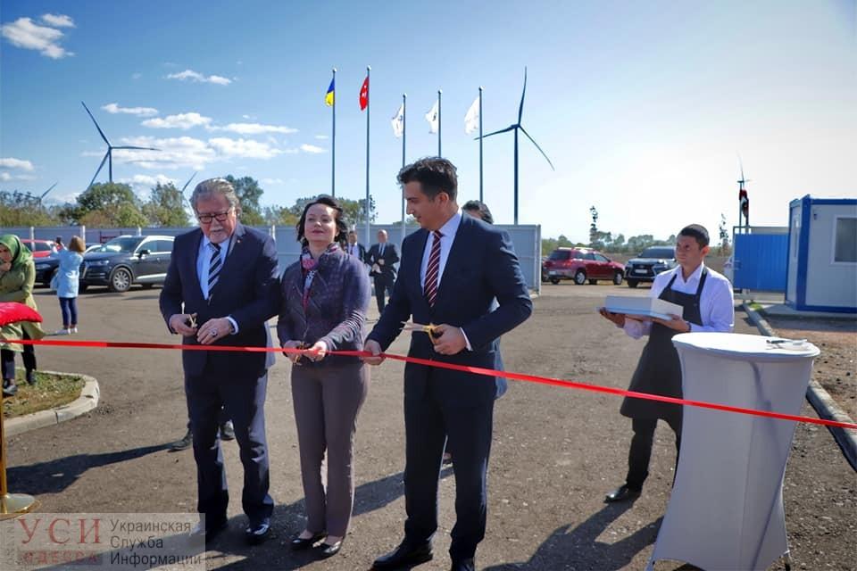В Одесской области открыли самую масштабную ветряную электростанцию (фото) «фото»