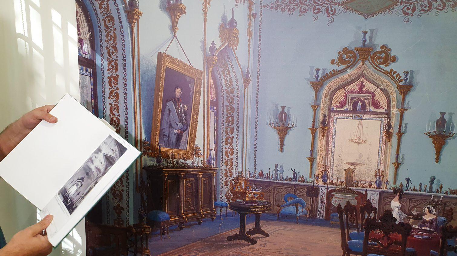 Уникальная выставка в Одессе: реальный исторический облик Воронцовского дворца (фото) «фото»