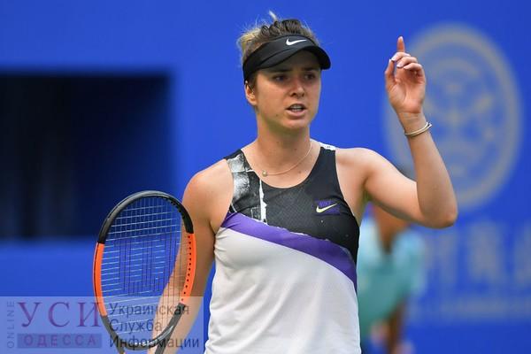 Одесская теннисистка Свитолина победила россиянку и вышла в четвертьфинал турнира Wuhan Open (видео) «фото»