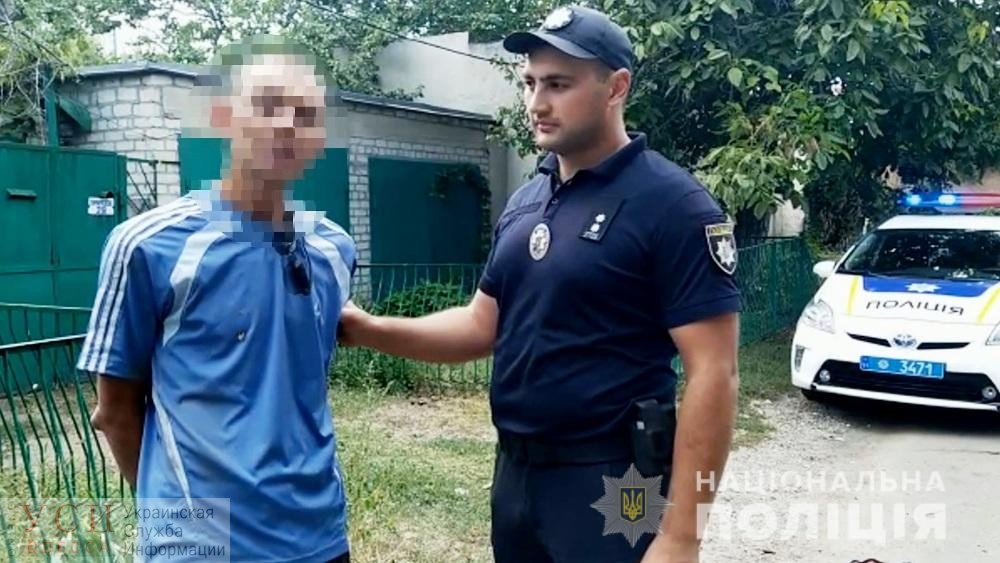В Киевском районе одессит стрелял из карабина, его задержали (фото, видео) «фото»