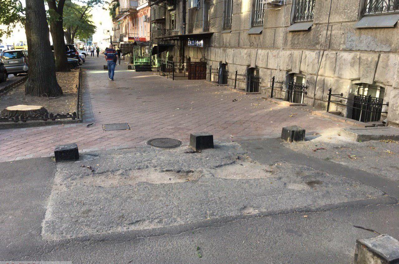 Восстановить тротуары на Нежинской планируют почти за 6 миллионов «фото»