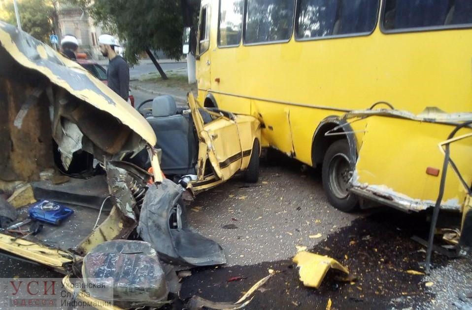 ДТП на Молдаванке: «Жигули» разрезали на две части (фото) «фото»