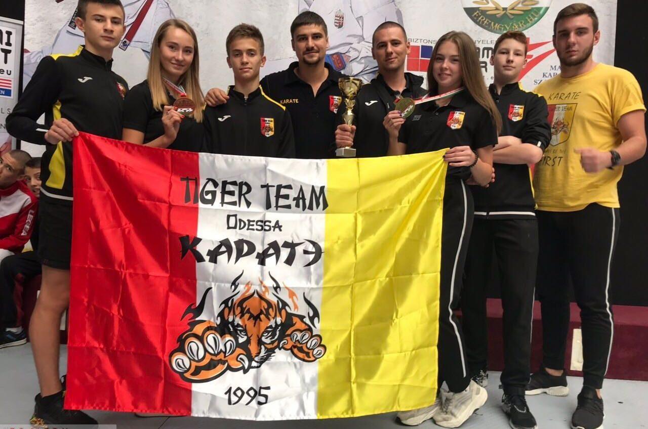 Одесские спортсмены завоевали 46 медалей на международном турнире по карате (фото) «фото»
