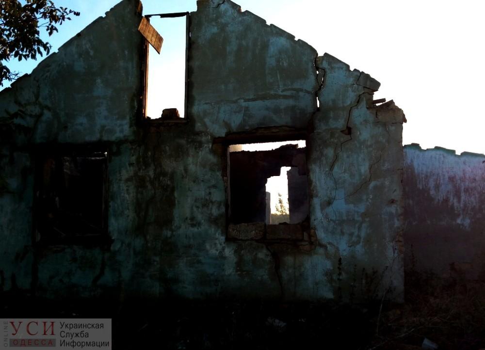 После пожара в заброшенном доме в Одесской области нашли тела двух погибших людей (фото) «фото»
