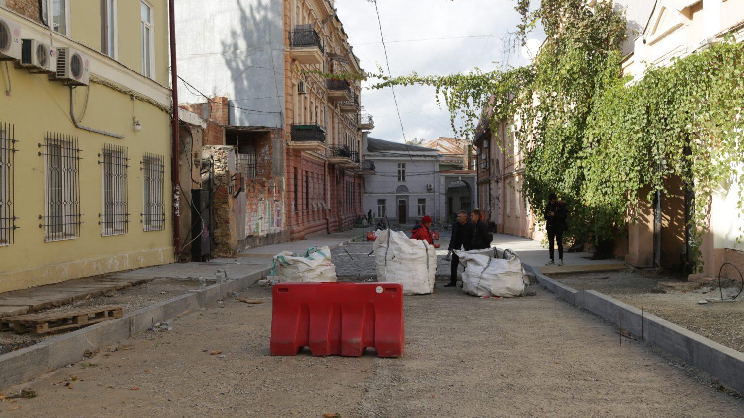 В Воронцовском переулке сохранят только 8 имперских плит (фото) «фото»