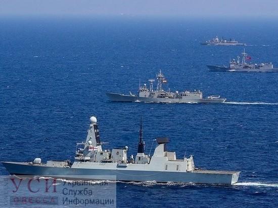 В Одессу зайдут три корабля НАТО «фото»