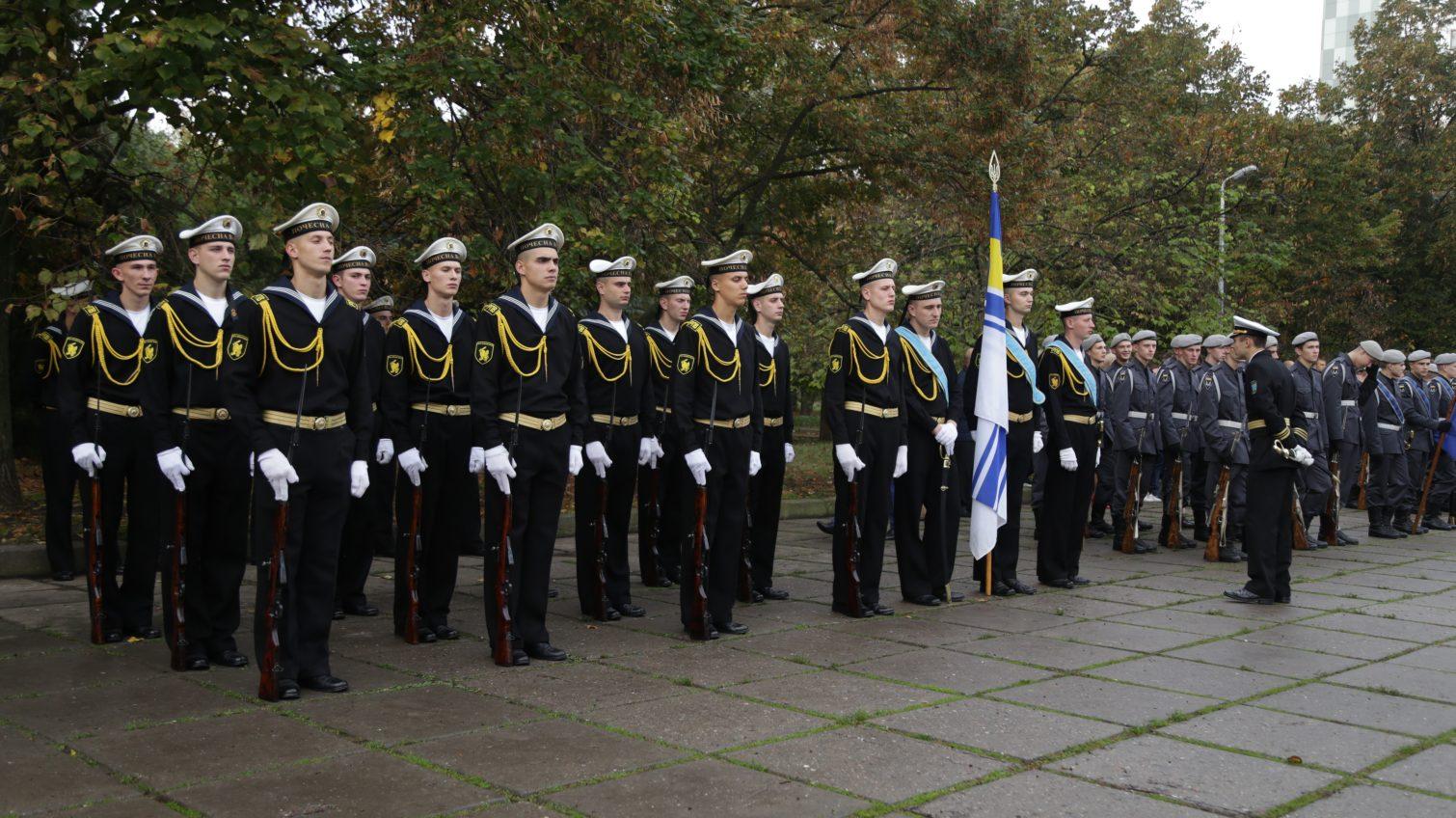 Церемония возложения цветов: в Одессе отмечают День защитника Украины (фоторепортаж) «фото»