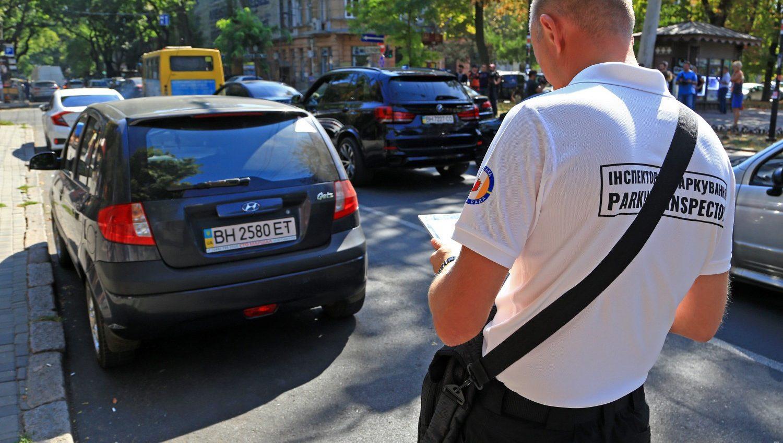 В Одессе уже полтысячи водителей оштрафовали за неправильную парковку в центре города «фото»