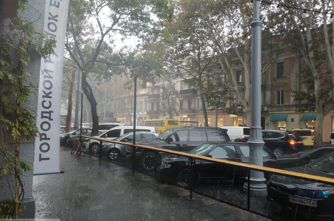На Одессу обрушился мощный ливень (фото, видео) «фото»