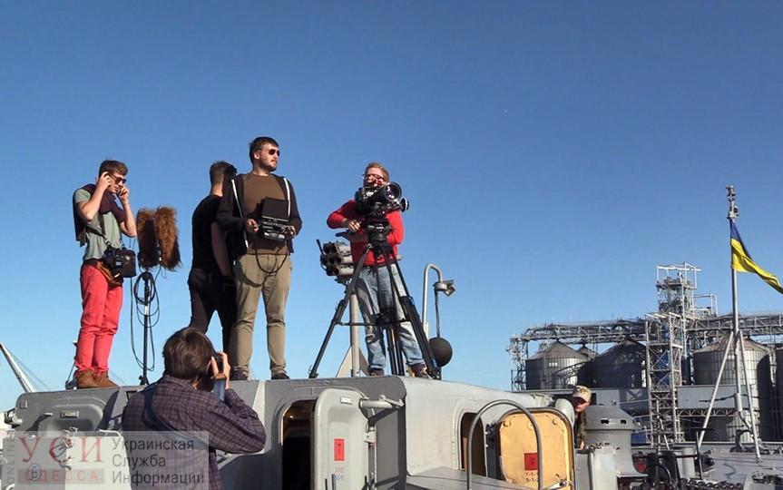 В Одессе снимают уникальный документальный фильм про украинский флот (фото) «фото»