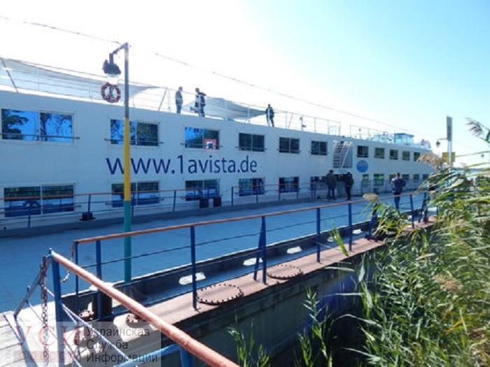 На Дунае заход речного лайнера завершил круизный сезон «фото»