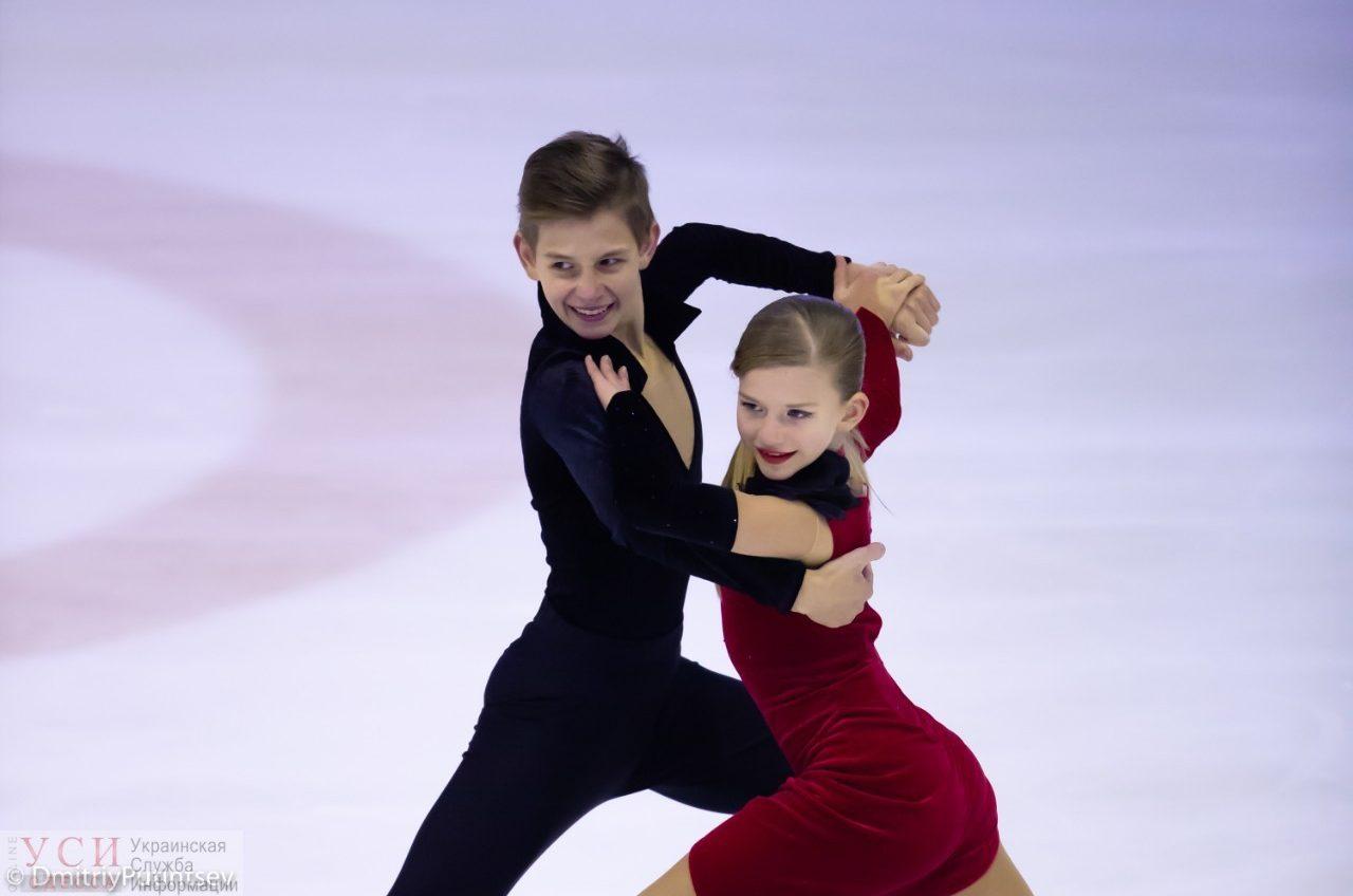 Юные одесситы стали победителями международных соревнований по фигурному катанию (видео) «фото»