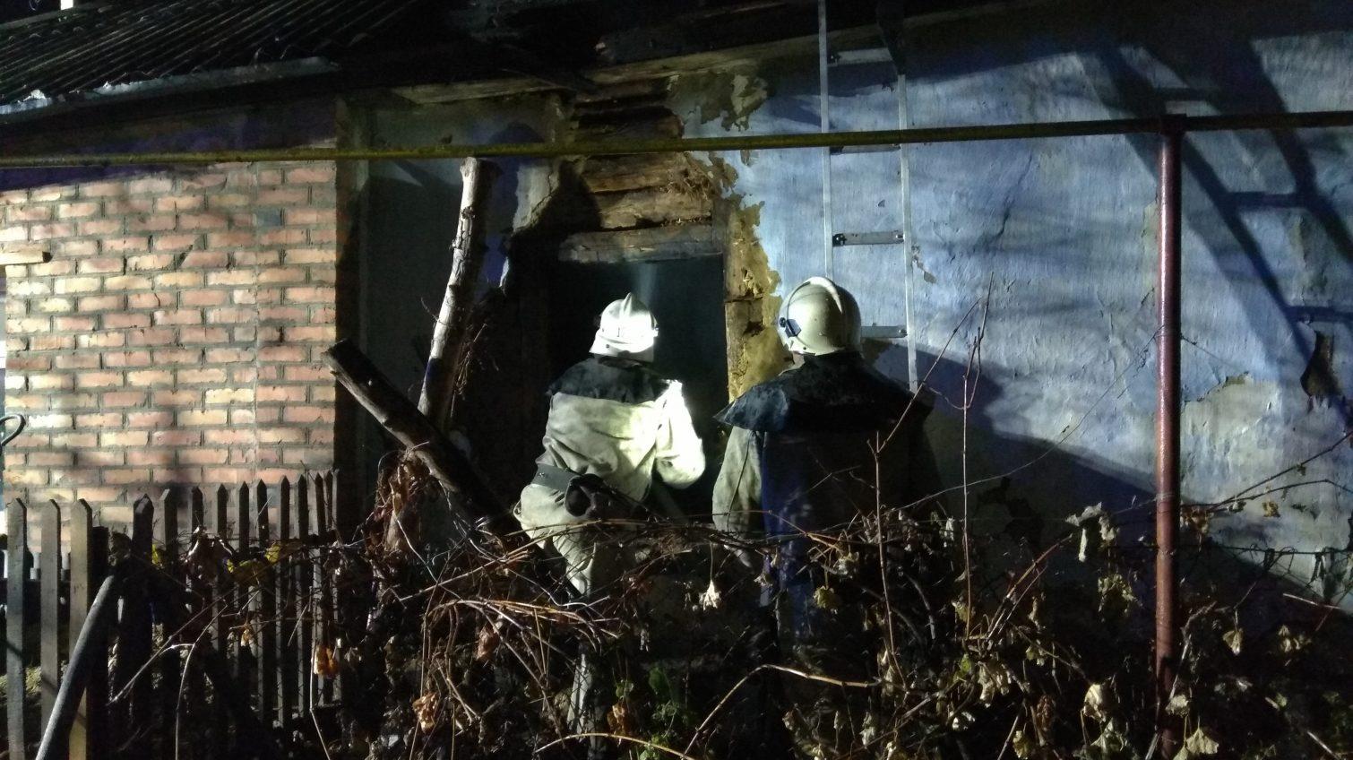 В Балте во время ночного пожара погибли два человека «фото»