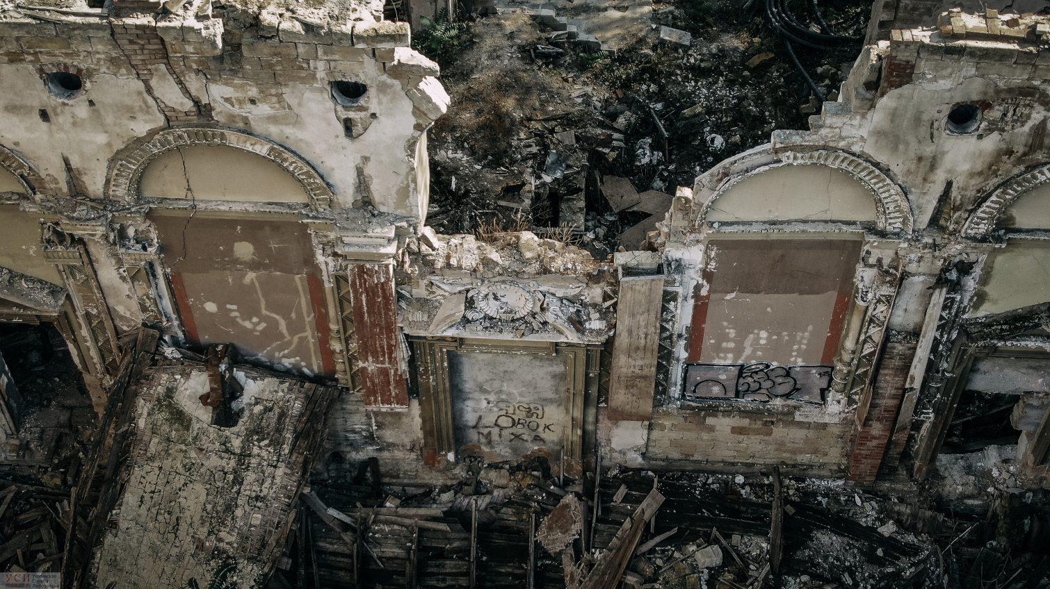 Место бедствия: руины некогда величественного Масонского дома в Одессе и полное отсутствие перспектив (фото, видео) «фото»