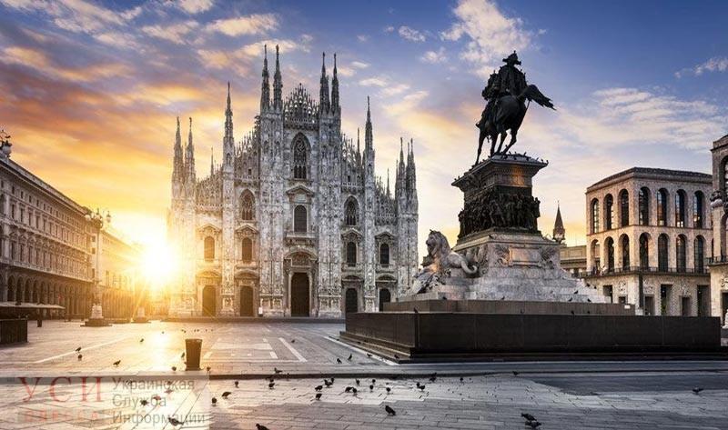 Из Одессы в Милан с декабря можно будет летать лоукостером «фото»