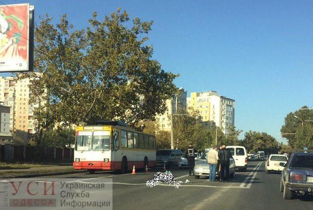 На Слободке автомобиль насмерть сбил пожилую женщину (фото) «фото»