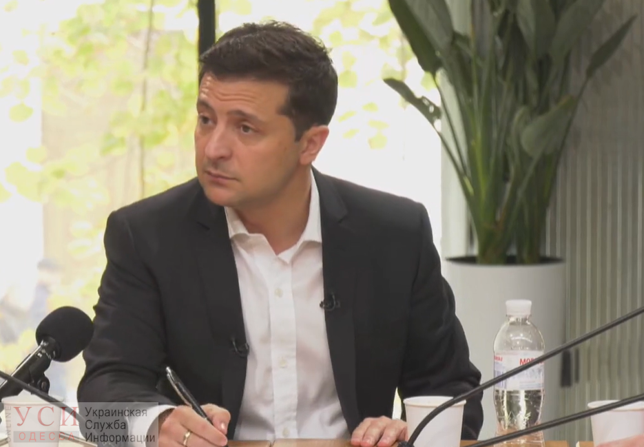 Зеленский рассказал, когда пройдут выборы в Одессе «фото»