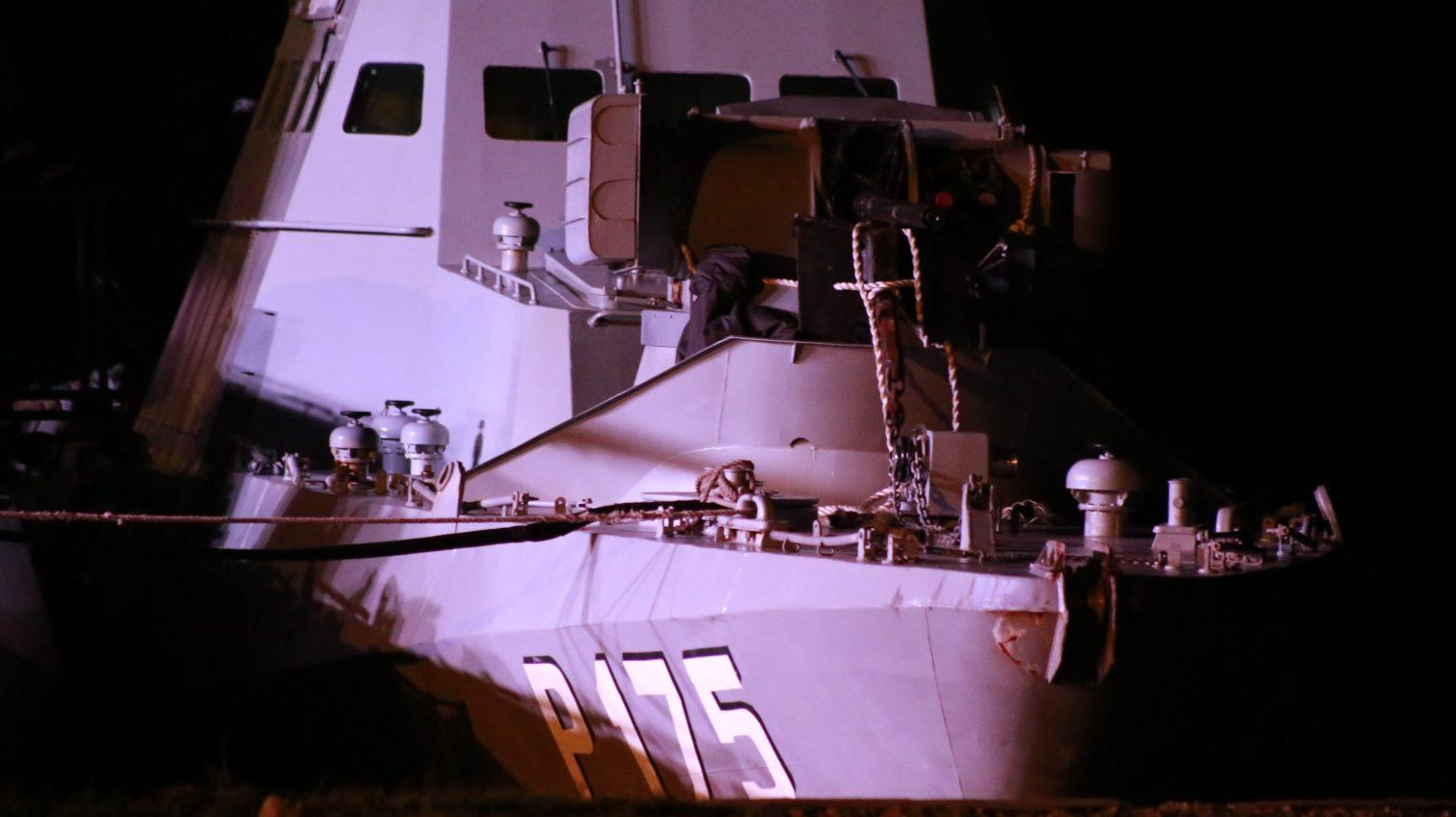 Третье украинское судно — катер «Бердянск», захваченный год назад в Керченском проливе, также пришвартовался в Очакове (фото) «фото»