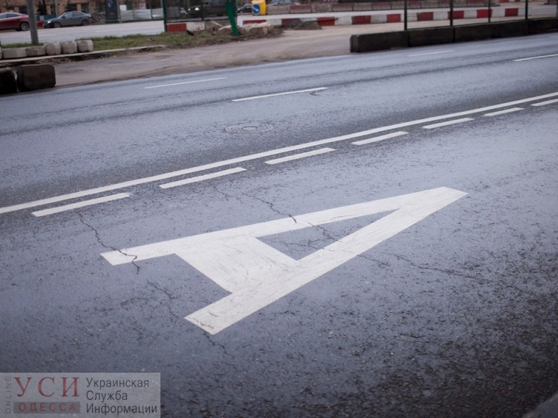 Отдельная полоса для общественно транспорта появится на Ришельевской «фото»