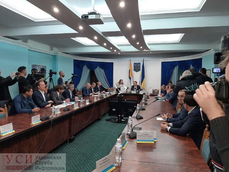 В Одесском облсовете обсуждают приоритеты развития региона — мэр и губернатор не пришли (текстовая трансляция) «фото»