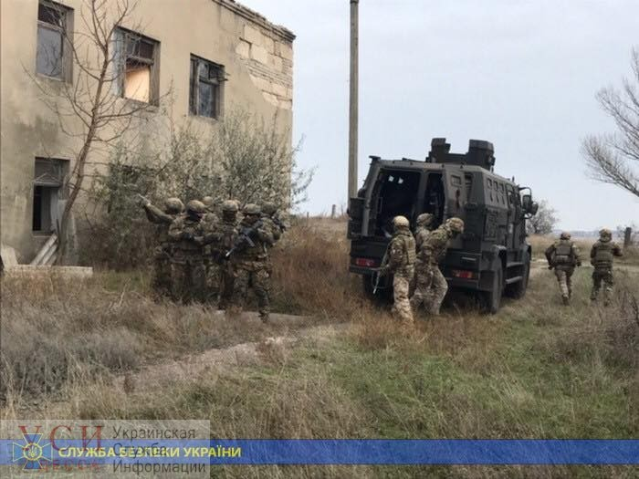 Антитеррористические учения прошли на военном объекте в Одесской области (фото, видео) «фото»