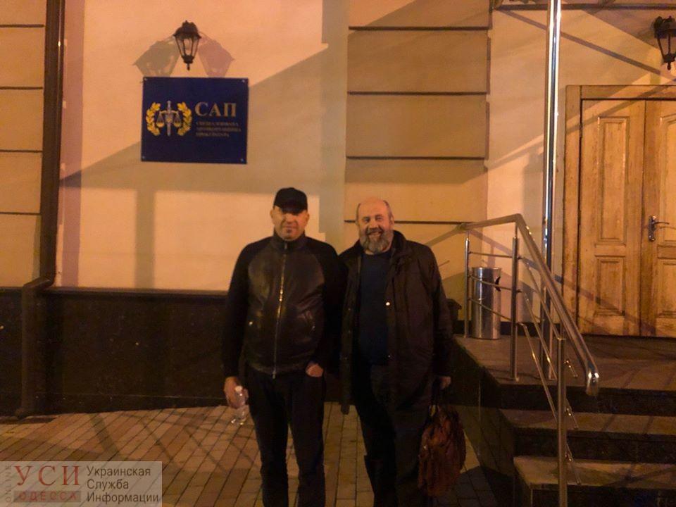 Одесский бизнесмен Альперин сдался НАБУ «фото»