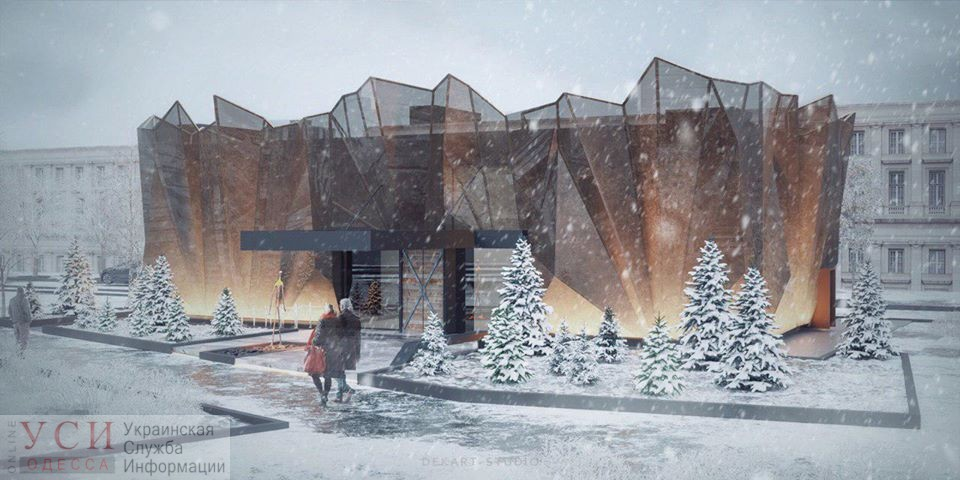 «Здание в форме пламени»: архитекторы предложили проект Музея Памяти Холокоста в Прохоровском сквере (видео) «фото»