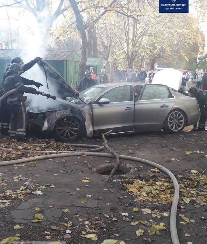 Одесские патрульные с погоней задержали мужчину, который поджег автомобиль на Черемушках «фото»