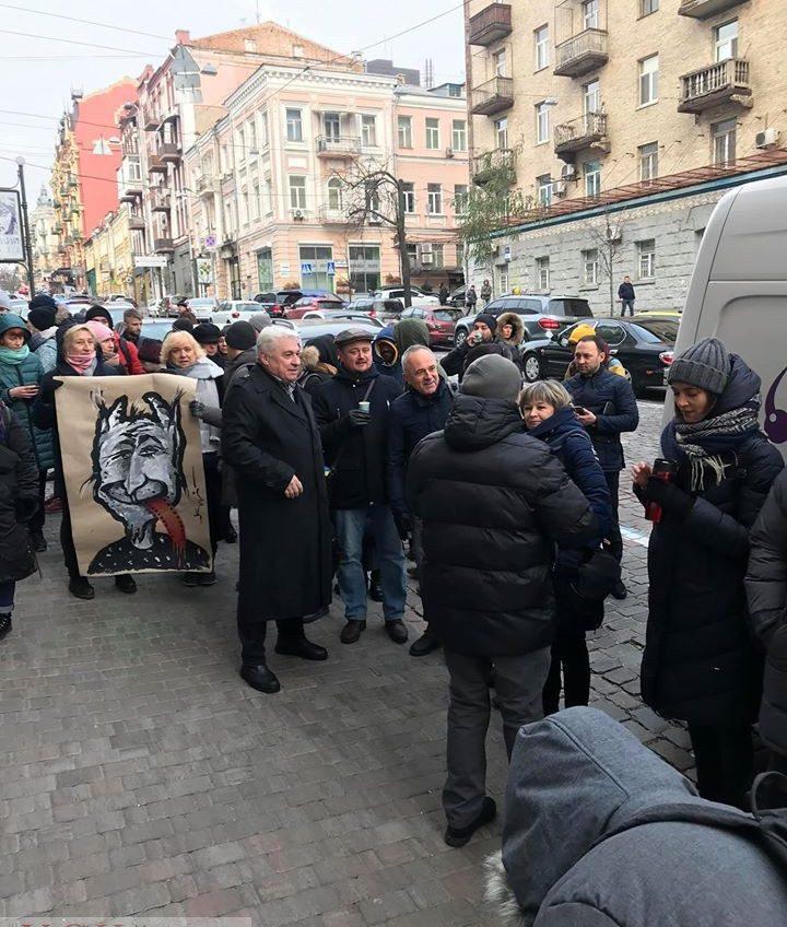 В Киеве митинговали в поддержку генпродюсера Одесского кинофестиваля (фото) «фото»