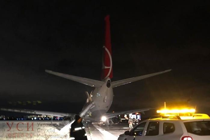 После аварии в одесском аэропорту остановили полеты: во всем винят ветер «фото»