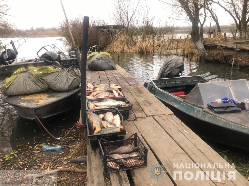 Браконьеры под видом исследователей ловили рыбу на Днестре: при задержании один попытался удрать на мотоцикле «фото»