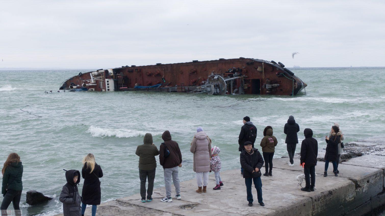 В АМПУ рассказали, как будут убирать танкер «Delfi» из Одесского залива, если хозяин судна не объявится (фото, видео) «фото»