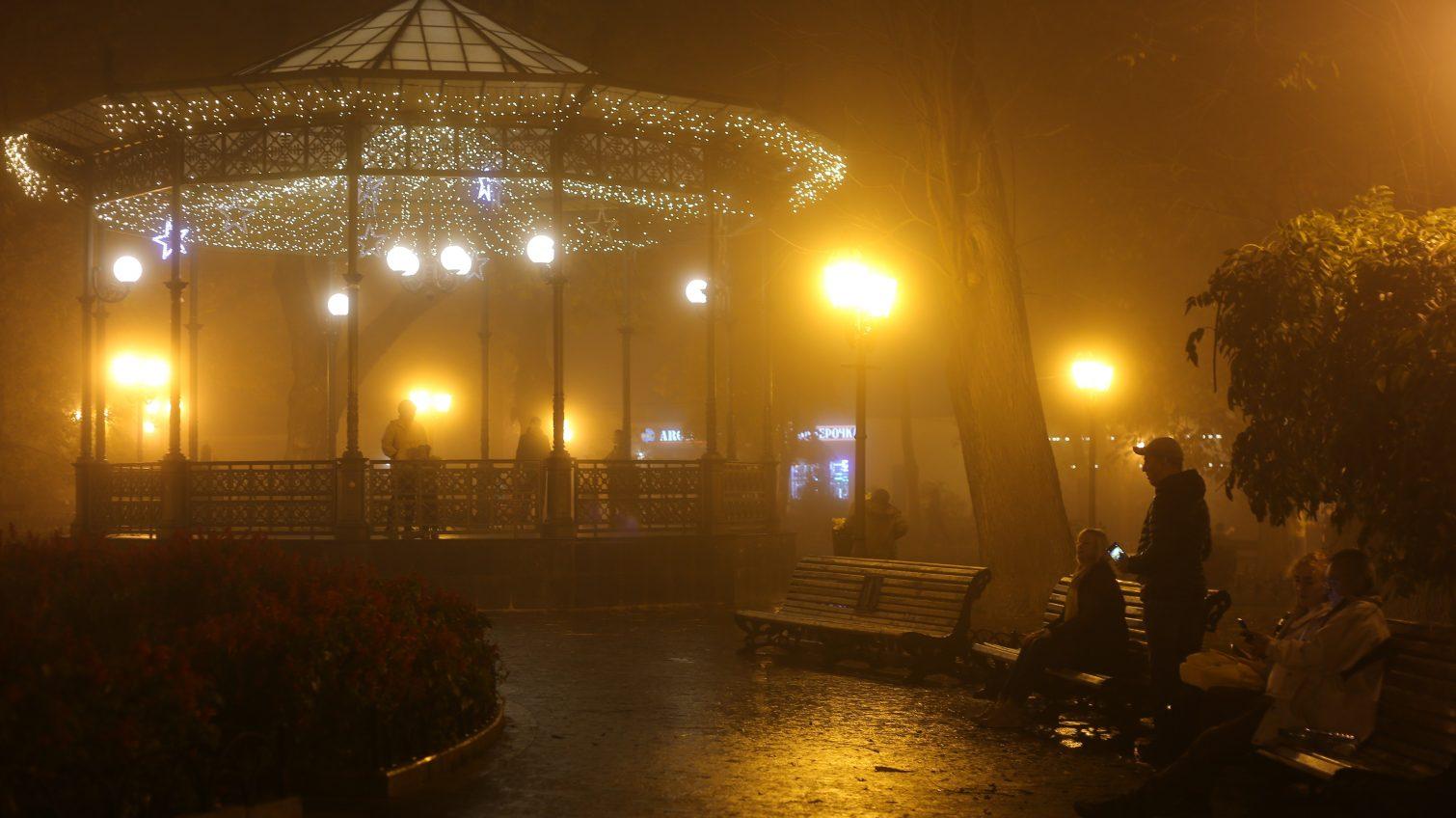 Осенняя Одесса в плену тумана (фото) «фото»