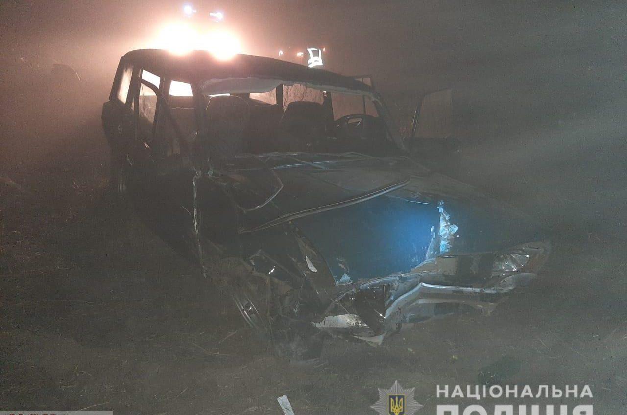 В Одесской области легковушка слетела в кювет из-за тумана – водитель погиб «фото»
