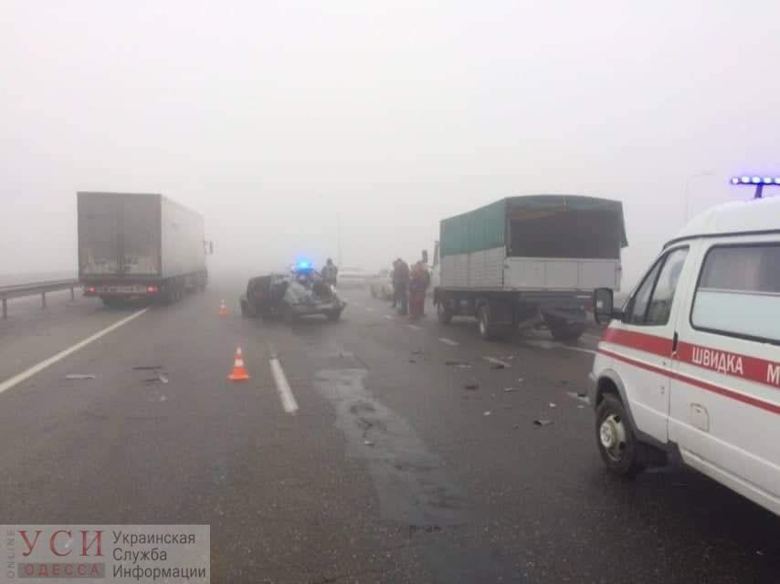 На Клеверном мосту произошло смертельное ДТП «фото»