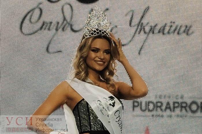 Одесситка стала самой красивой студенткой Украины (фото) «фото»