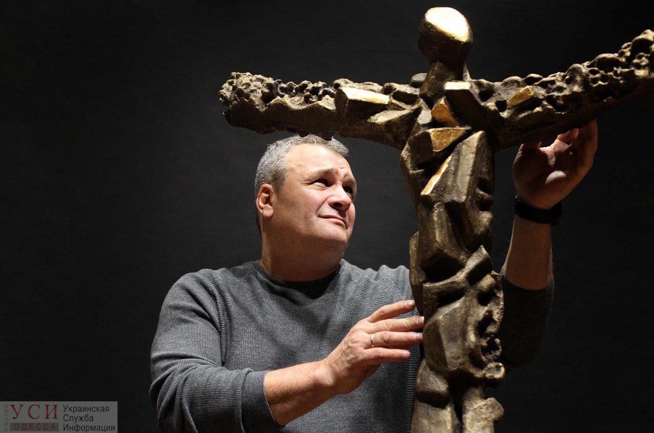 В Одессе установят пятиметровый памятник Небесной Сотне: его создал скульптор Михаил Рева (фото) «фото»